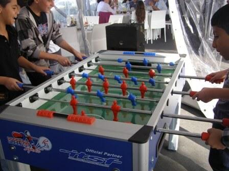 שולחן כדורגל יד להשכרה
