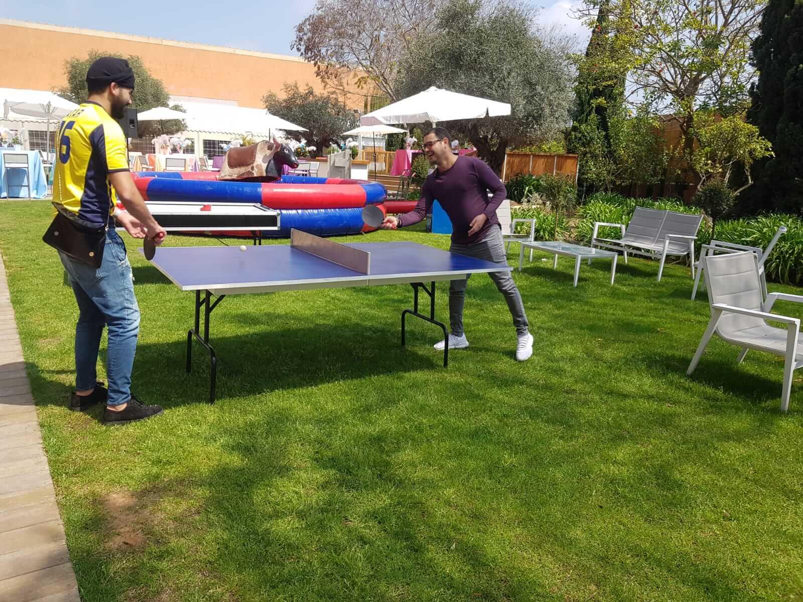 טניס שולחן לאירועים